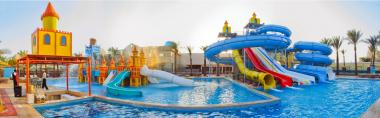 Campsites with water park